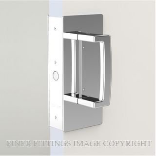 CL406 PASSAGE SET SINGLE DOOR MAGNETIC 40-46MM DOORS