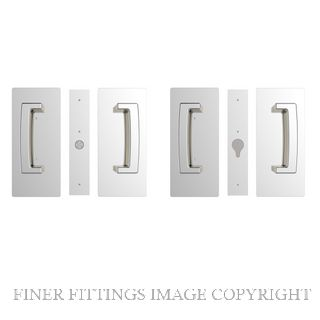 CL406 DOUBLE DOOR PASSAGE SET MAGNETIC 40-46MM