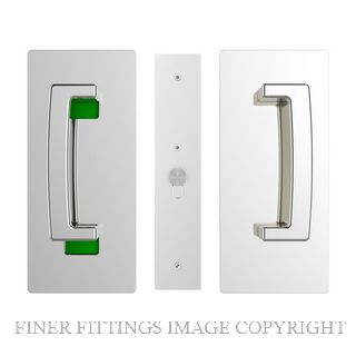 CL406 SINGLE DOOR PRIVACY SET LEFT HAND MAGNETIC 40-46MM