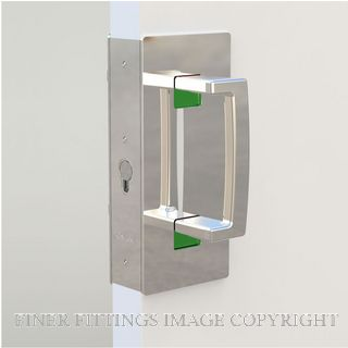 CL406 SINGLE DOOR PRIVACY SET MAGNETIC 46-52MM