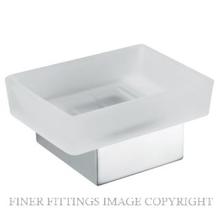 AQUILA SOAP DISH POLISHED STAINLESS