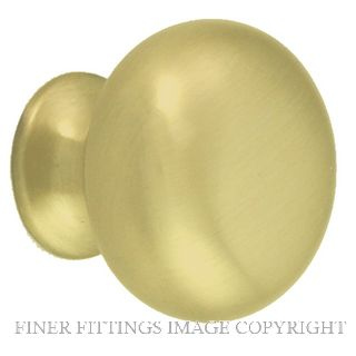 NIDUS CABMK30PB MUSHROOM CABINET KNOB 30MM POLISHED BRASS