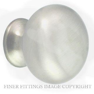 NIDUS CABMK30CP MUSHROOM CABINET KNOB 30MM CHROME PLATE