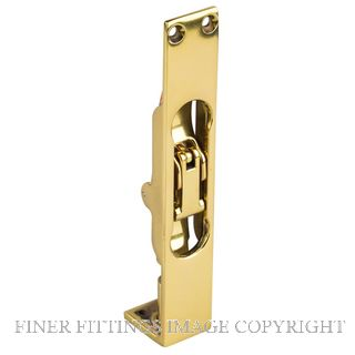 DRAKE & WRIGLEY 1240 FLUSH BOLTS POLISHED BRASS
