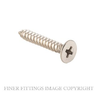 TRADCO SCHINGESC25 - SCHINGESC32 POZI HEAD SCREWS SATIN CHROME