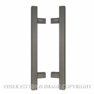 WINDSOR 7054 - 7066 SQUARE PULL HANDLES GRAPHITE NICKEL