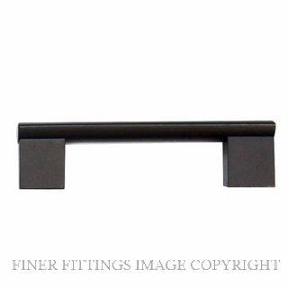WINDSOR 6314 - 6415 BLK MINERVA CABINET HANDLES MATT BLACK
