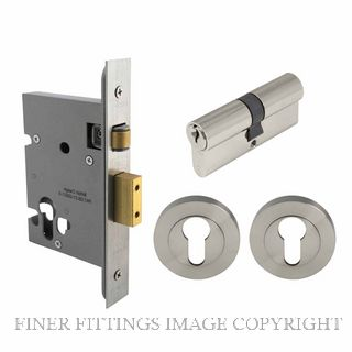 WINDSOR 1149 BN LOCK KIT (1156+1147+7020) BRUSHED NICKEL