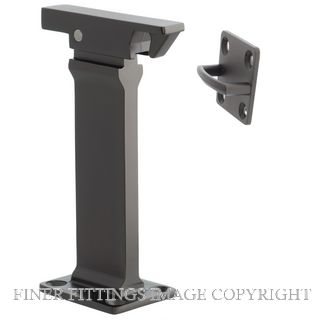 MN609SG DOOR HOLDER MANTIS SOLID BRASS SATIN GRAPHITE