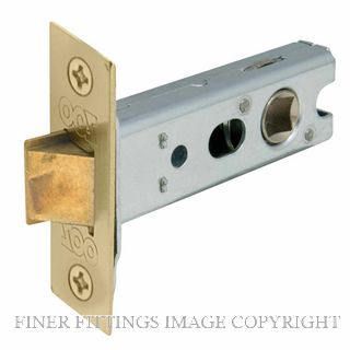 WINDSOR BRASS 1172 57MM HEAVY SPRUNG TUBULAR LCH POLISHED BRASS