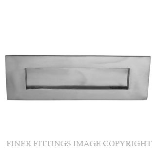 ELEMENTS HARDWARE 3012 LETTERPLATE SATIN CHROME