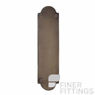 WINDSOR 5059 NB PUSH PLATE - 205MM X 50MM NATURAL BRONZE