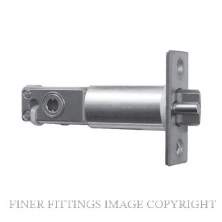 CARBINE NKL-2 BLADE DRIVE 70MM DEADLATCH LATCHBOLT SATIN STAINLESS