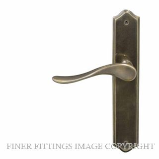 WINDSOR HAVEN TRADITIONAL OR LONGPLATE OIL RUBBED BRONZE