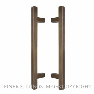 WINDSOR 8192 OR PULL HANDLE BACK TO BACK 300 OA OIL RUBBED BRONZE