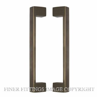WINDSOR 8193 OR PULL HANDLE BACK TO BACK 235 OA OIL RUBBED BRONZE