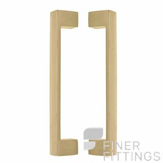 WINDSOR 8193 PB PULL HANDLE BACK TO BACK 235 OA POLISHED BRASS-LACQUERED