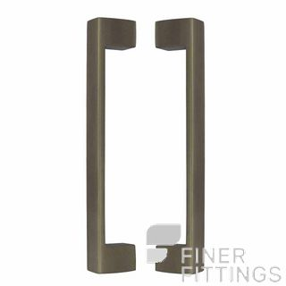 WINDSOR 8193 RB PULL HANDLE BACK TO BACK 235 OA ROMAN BRASS
