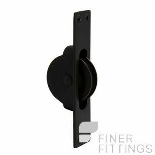 WINDSOR 5197 BLK SASH PULLEY MATT BLACK