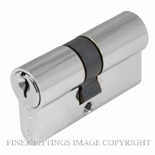 WINDSOR BRASS 1121 60MM DOUBLE KEY EURO CYLINDER