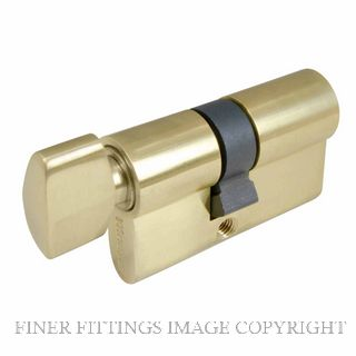 WINDSOR BRASS 1122 60MM KEY-TURN EURO CYLINDER