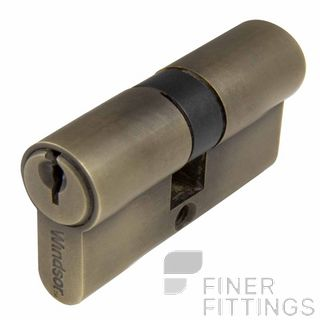 WINDSOR 1121 - 1224 RB EURO DOUBLE KEYED CYLINDERS ROMAN BRASS