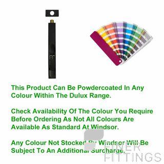 WINDSOR 5028 PC FLUSH BOLT POWDER COAT