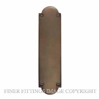WINDSOR 5059 MAB PUSH PLATE - 205MM X 50MM MATT ANTIQUE BRONZE