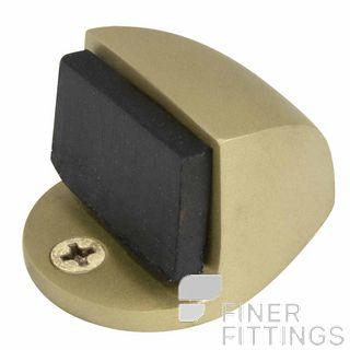 WINDSOR 5062 MB 22MM DOORSTOP FLOOR MOUNT MATT BRASS