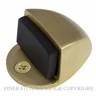 WINDSOR 5062 SB 22MM DOORSTOP FLOOR MOUNT SATIN BRASS