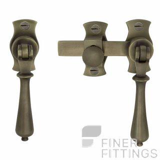 WINDSOR 5138 RB FRENCH DOOR CATCH TEARDROP ROMAN BRASS