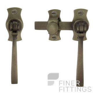 WINDSOR 5139 RB FRENCH DOOR CATCH SQUARE ROMAN BRASS