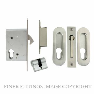 WINDSOR BRASS 1188 SLIDING DOOR LOCK KITSET