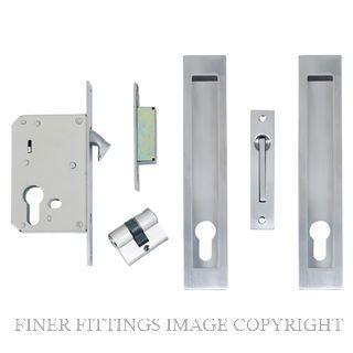 WINDSOR BRASS 1271 SLIDING DOOR LOCK KITS