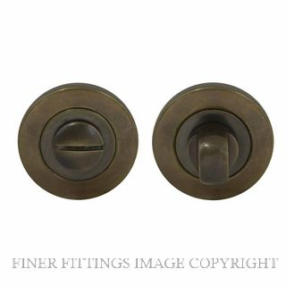 WINDSOR BRASS 8188 OR PRIVACY TURN & RELEASE - 50MM ROSE OIL RUBBED BRONZE