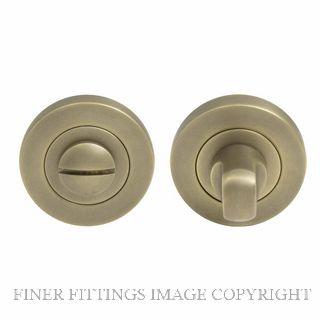 WINDSOR BRASS 8188 RB PRIVACY TURN & RELEASE - 50MM ROSE ROMAN BRASS