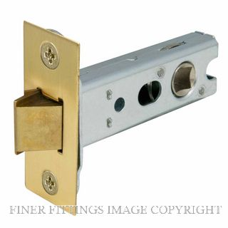 WINDSOR BRASS 1172 57MM HEAVY SPRUNG TUBULAR LCH SATIN BRASS