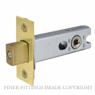 WINDSOR BRASS 1173 57MM HEAVY DUTY TUBULAR PRIVACY BOLT MATT BRASS