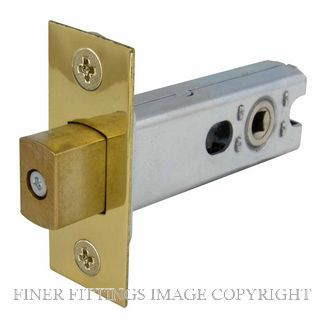 WINDSOR BRASS 1173 57MM HEAVY DUTY TUBULAR PRIVACY BOLT UNLACQUERED BRASS