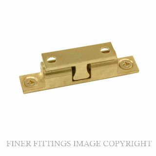 WINDSOR 5015-5016 DOUBLE BALL CATCHES UNLACQUERED BRASS