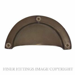 WINDSOR 5018 NB HOODED PULLS 86 X 44MM NATURAL BRONZE