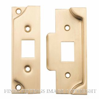 TRADCO 6246 REBATE KIT FOR TUBE LATCH SATIN BRASS