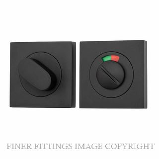 TRADCO 20113 SQUARE INDICATING PRIVACY SET 52MM MATT BLACK
