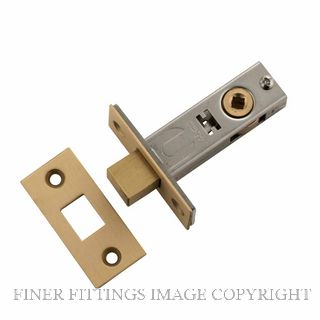TRADCO 6239-6241 PRIVACY BOLTS SATIN BRASS