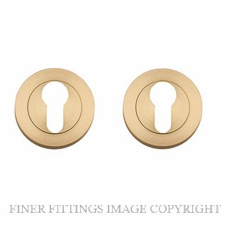 TRADCO 9360 EURO ESCUTCHEON 52MM SATIN BRASS