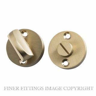 TRADCO 6631 PRIVACY SNIB ROUND SATIN BRASS