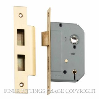 TRADCO 4045 -4046 5 LEVER LOCKS SATIN BRASS