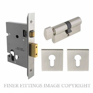 WINDSOR 1157 BN ROLLER LOCK KIT SQ (1156+1148+8102E) BRUSHED NICKEL