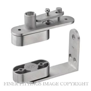 JNF JNIN05 202 DOOR PIVOT SET SATIN STAINLESS