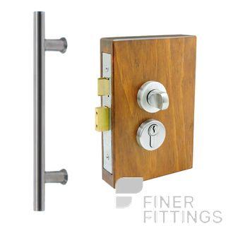 WINDSOR BRASS 1193 ENT PULL & LOCK KIT (INC 7063+1182) STAINLESS STEEL